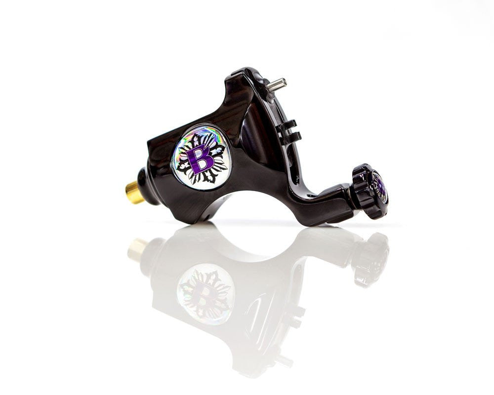 BISHOP POLISHED BLACK- Bishop Rotary Tattoo Machine