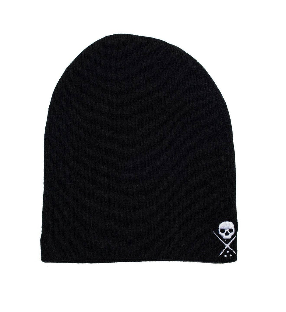 NE STD ISSUE BEANIE BLK/WHT
