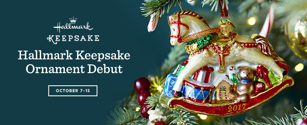 Hallmark Keepsake Ornament Debut October 7-15