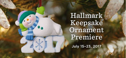 Hallmark Ornament Premiere is this weekend!