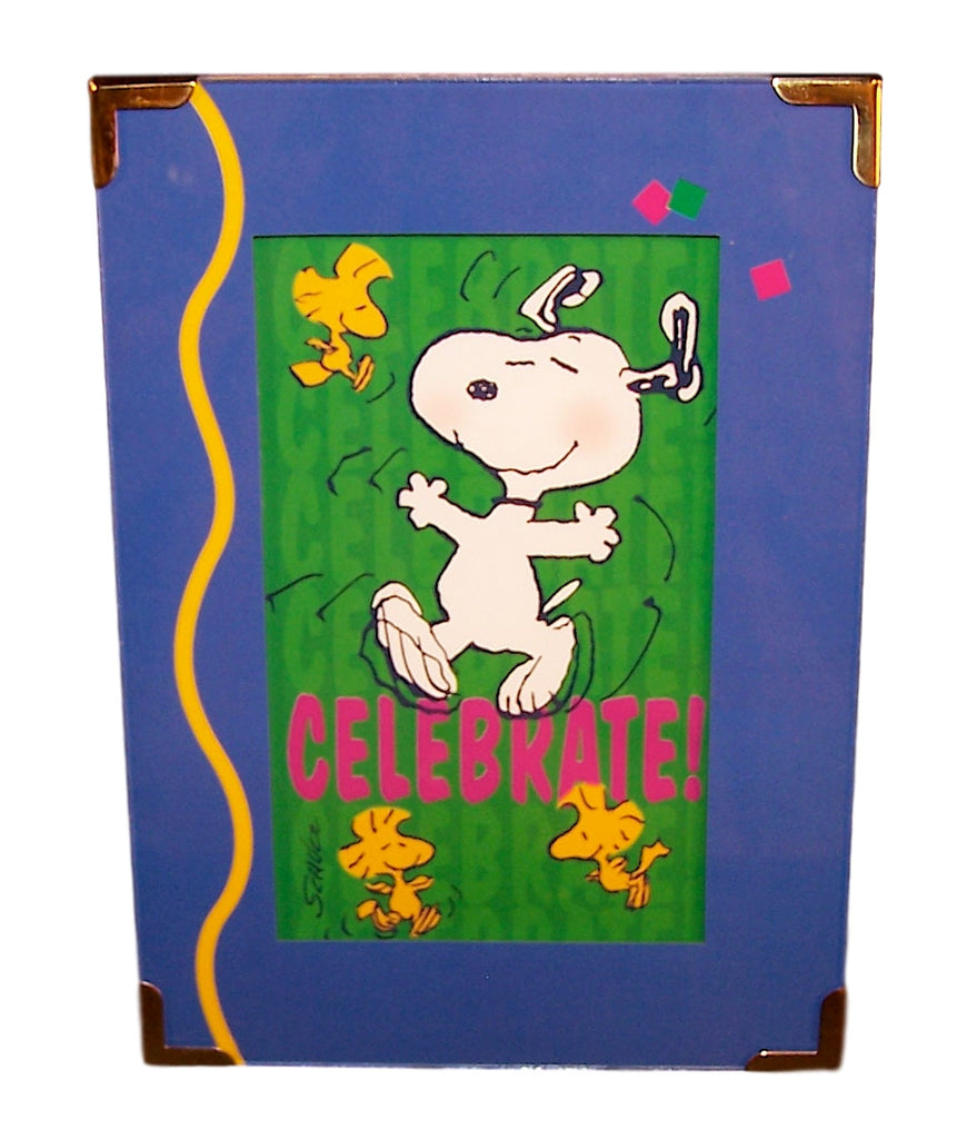 Hallmark Peanuts Gallery A Happy Dance-Framed Print-Oakview Collectibles