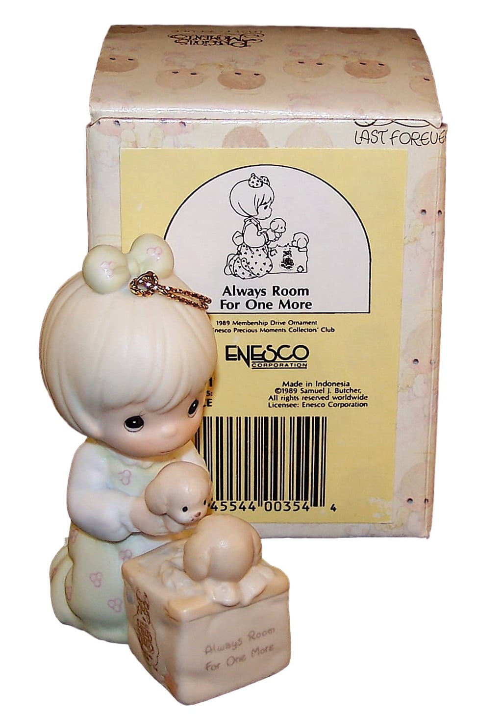 Precious Moments Always Room For One More Ornament-Ornament-Oakview Collectibles