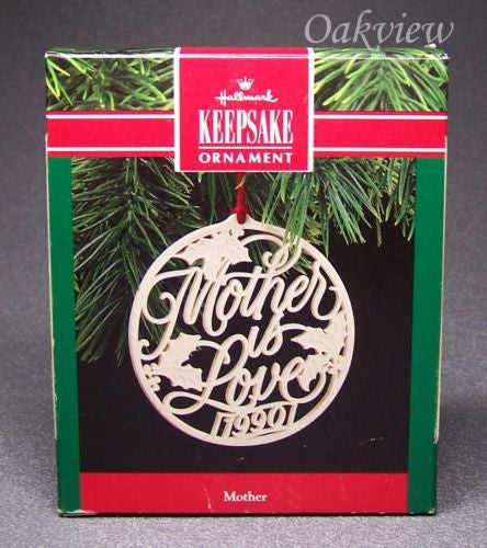 Hallmark 1990 Mother-Ornament-Oakview Collectibles