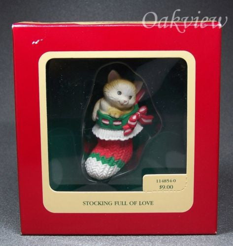 Carlton Cards 1990 Stocking Full of Love-Ornament-Oakview Collectibles