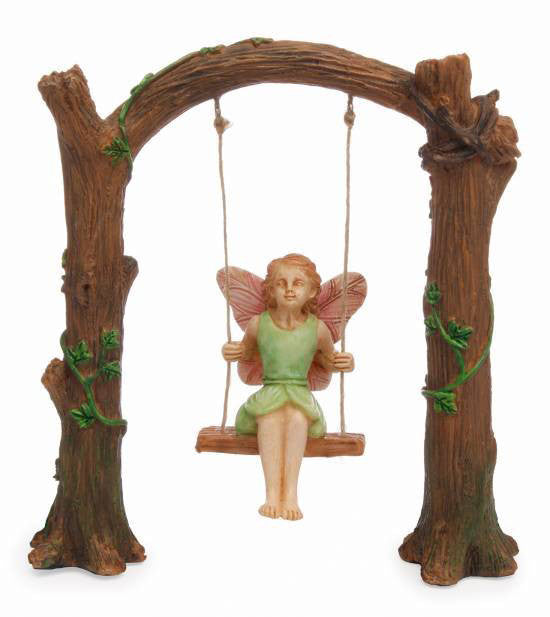 MHG Fairy Garden Arch Swing-Fairy Garden-Oakview Collectibles