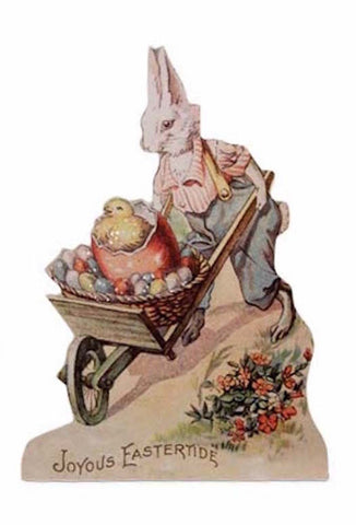 "Bethany Lowe Farmers Market 5.25"" Dummy Board - Joyous Eastertide-Dummy Board-Oakview Collectibles"