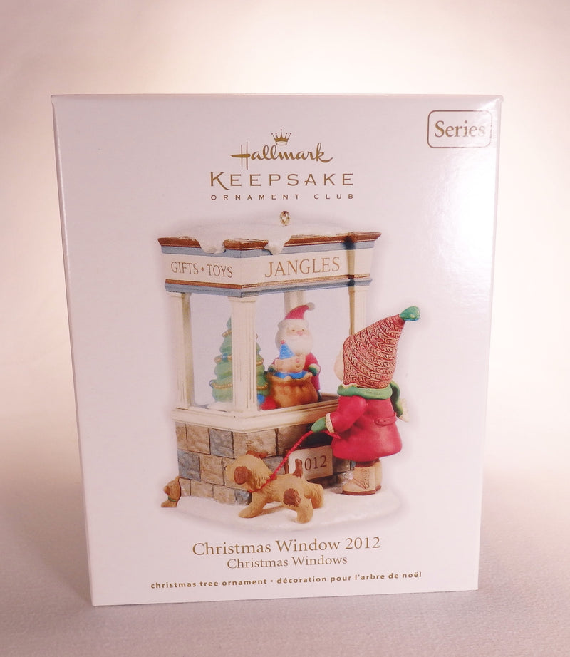 Hallmark 2012 Christmas Window - DB-Ornament-Oakview Collectibles