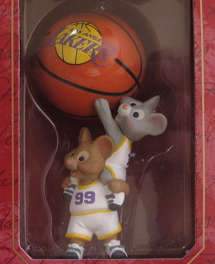 Hallmark 1999 NBA Collection - Lakers-Ornament-Oakview Collectibles