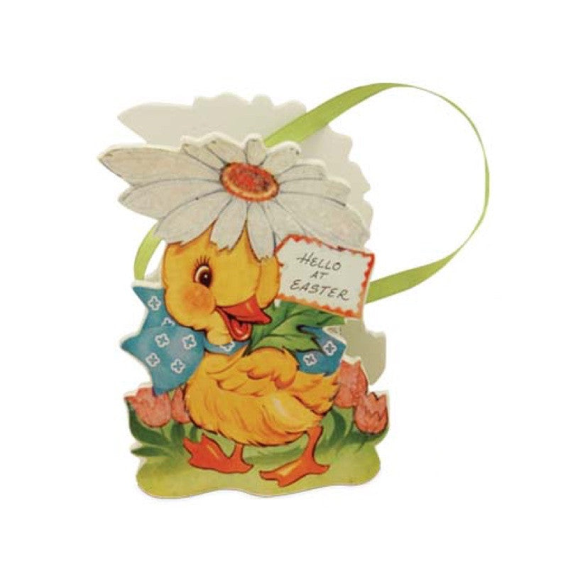 Bethany Lowe Retro Easter Bucket - Duck-Bucket-Oakview Collectibles