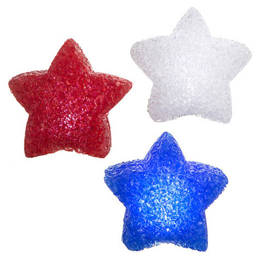 Darice Patriotic LED Star Twinkle Lights Set of 3-Candle Decor-Oakview Collectibles