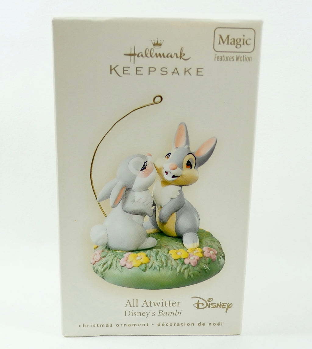 Hallmark 2007 All Atwitter Bambi - Magic-Ornament-Oakview Collectibles