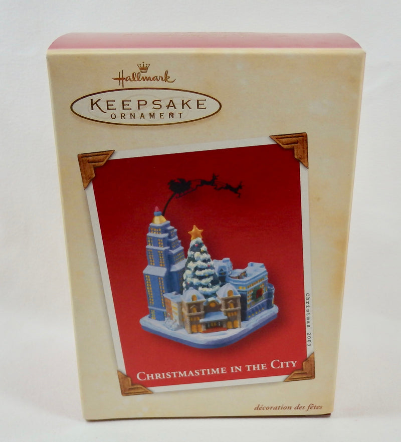 CHRISTMASTIME IN THE CITY 2003 Hallmark Ornament QXG8817-Ornament-Oakview Collectibles