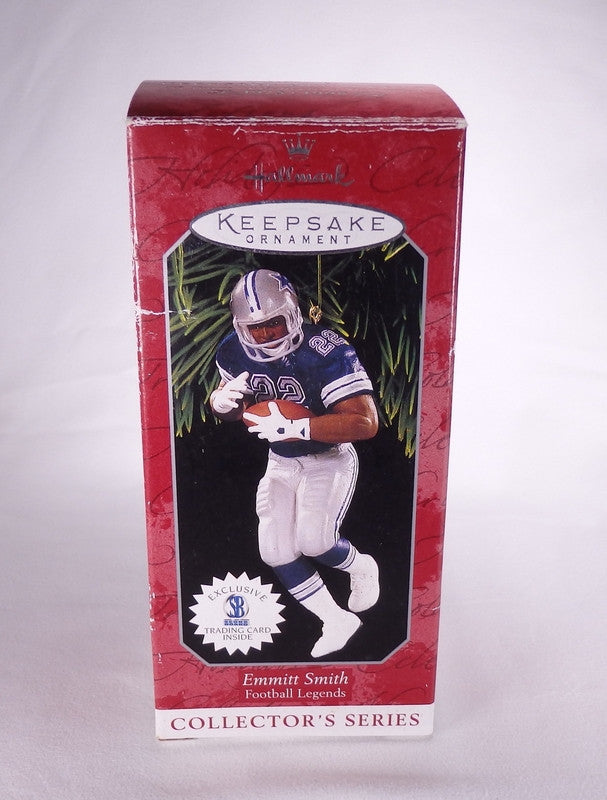 Hallmark Emmitt Smith Football Legends Keepsake Ornament QXI4036-Ornament-Oakview Collectibles