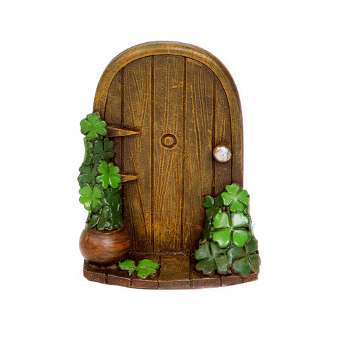Miniature Fairy Garden St Patricks Day Door-Fairy Garden-Oakview Collectibles