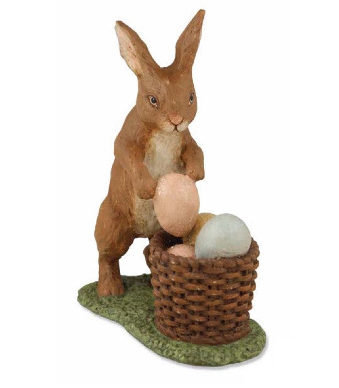 Bethany Lowe Rabbit with Eggs - Standing-Figurine-Oakview Collectibles
