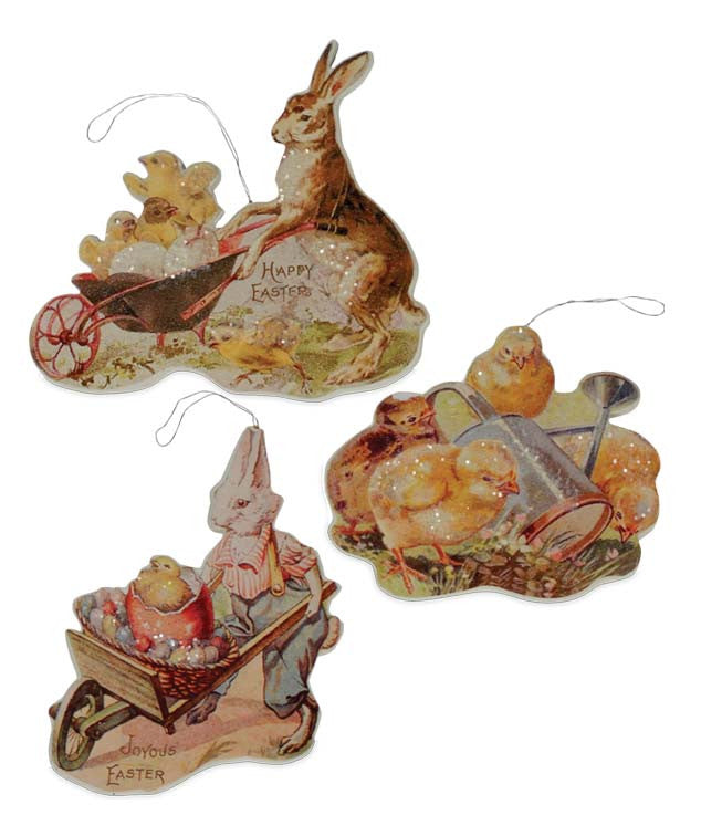 Bethany Lowe Farmers Market Ornament Set of 3-Ornament-Oakview Collectibles