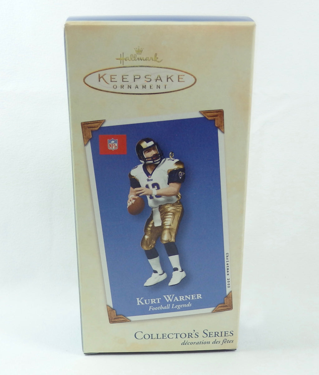 Hallmark 2002 Football Legends #8 Kurt Warner-Ornament-Oakview Collectibles