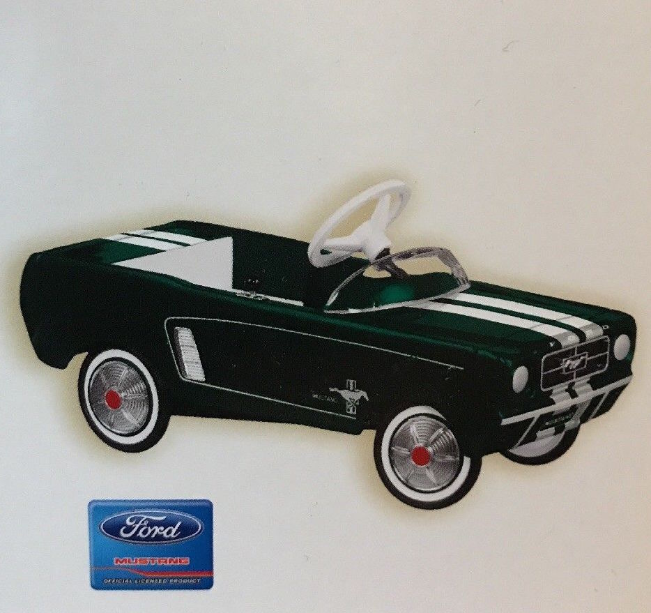 Hallmark 2007 Kiddie Car Classics SE - 1964 1/2 Ford Mustang-Ornament-Oakview Collectibles