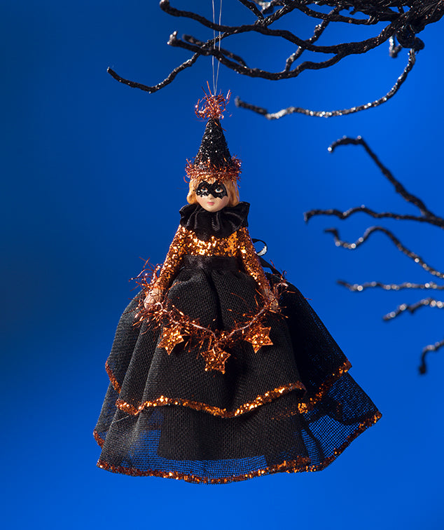 Bethany Lowe Halloween Doll Ornament / Tree Topper-Ornament-Oakview Collectibles