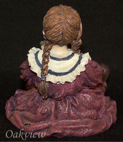 Boyds Dollstone Patricia with Molly Attic Treasures Home Again #3501-Figurine-Oakview Collectibles