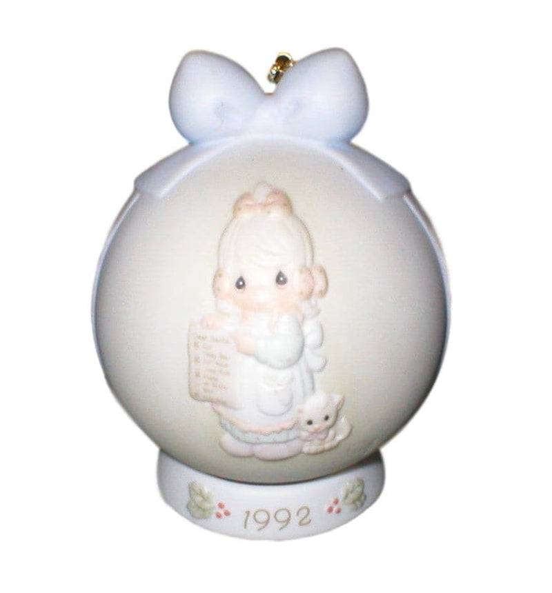 Precious Moments 1992 But The Greatest Of These Is Love-Ornament-Oakview Collectibles