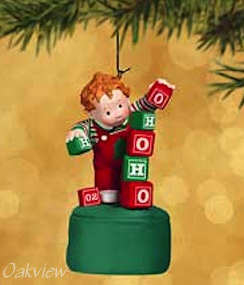 Hallmark 2002 Teetering Toddler-Ornament-Oakview Collectibles