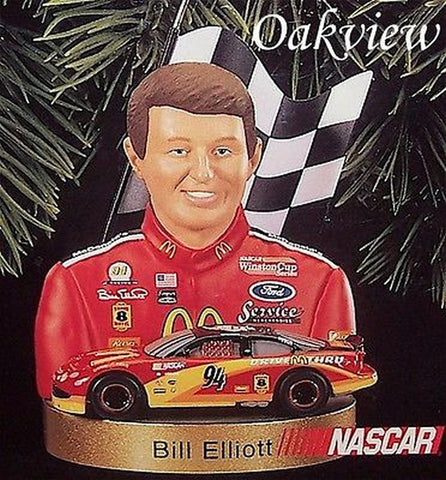 Hallmark 1999 Stock Car Champions #2 - Bill Elliott-Ornament-Oakview Collectibles