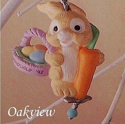 Hallmark 1992 Grandchild - Easter-Ornament-Oakview Collectibles