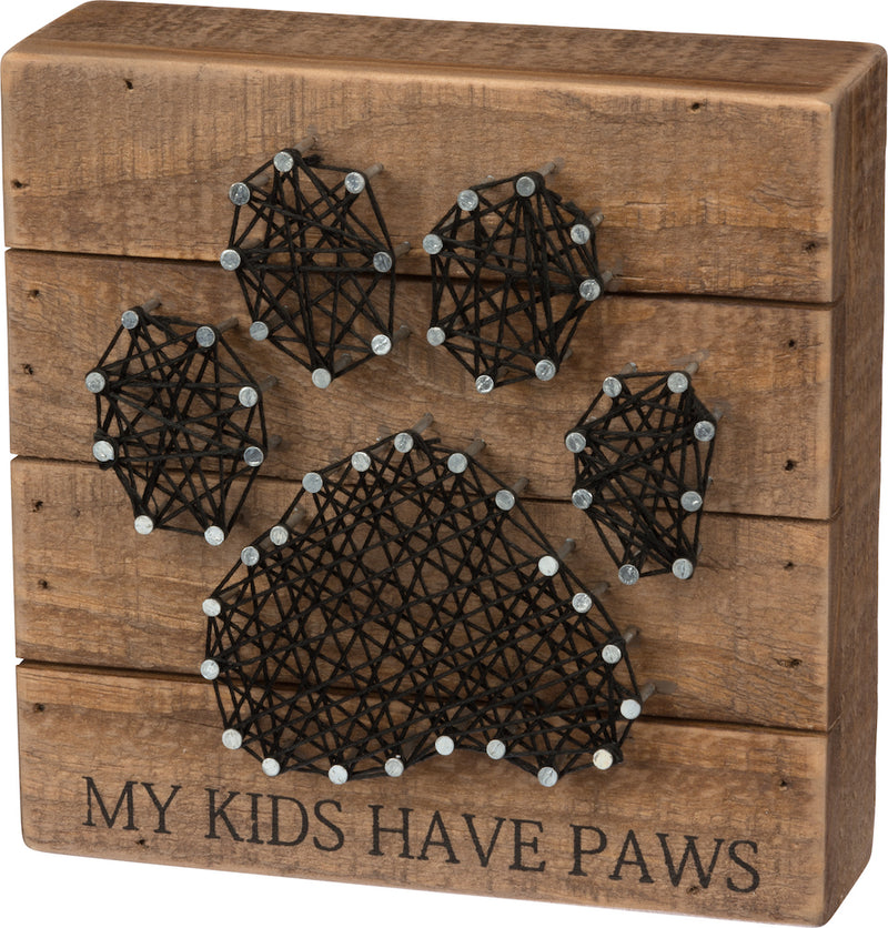 PBK My Kids Have Paws String Art-Wall Decor-Oakview Collectibles