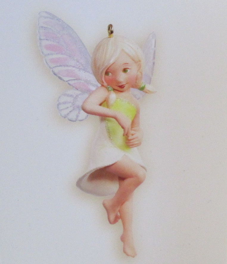 Hallmark 2008 Fairy Messengers #4 - Lily Fairy-Ornament-Oakview Collectibles