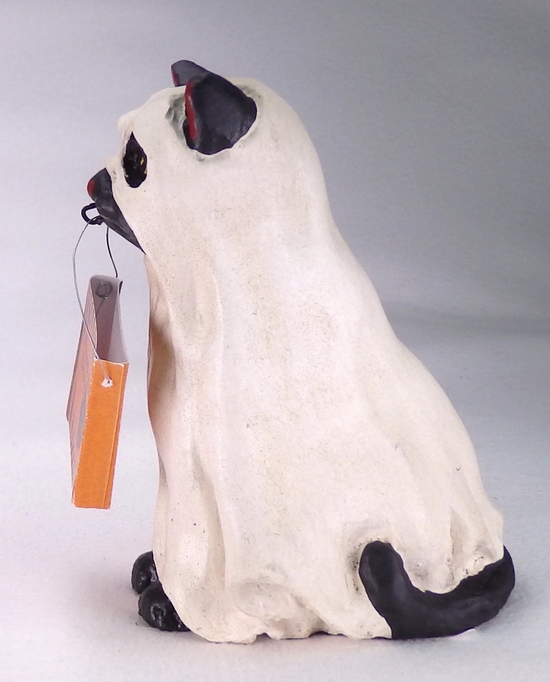 Bethany Lowe Ghost Cat - Halloween-Figurine-Oakview Collectibles