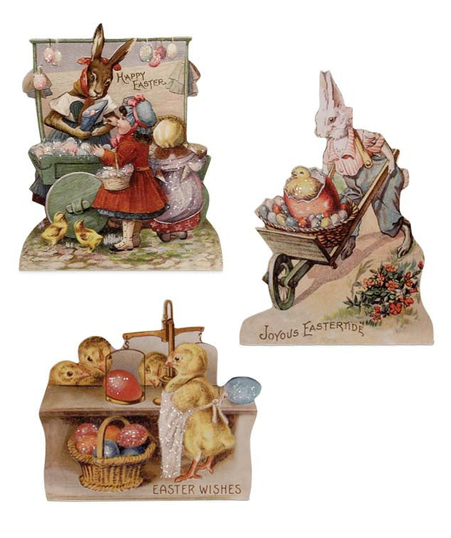 Bethany Lowe Farmers Market Dummy Boards - Set of 3-Dummy Board-Oakview Collectibles