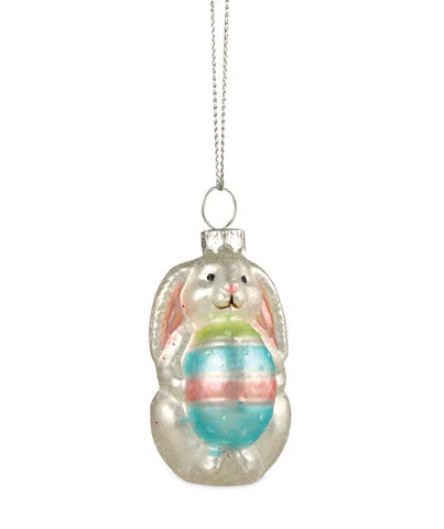 Bethany Lowe Easter Bunny Glass Ornament-Ornament-Oakview Collectibles