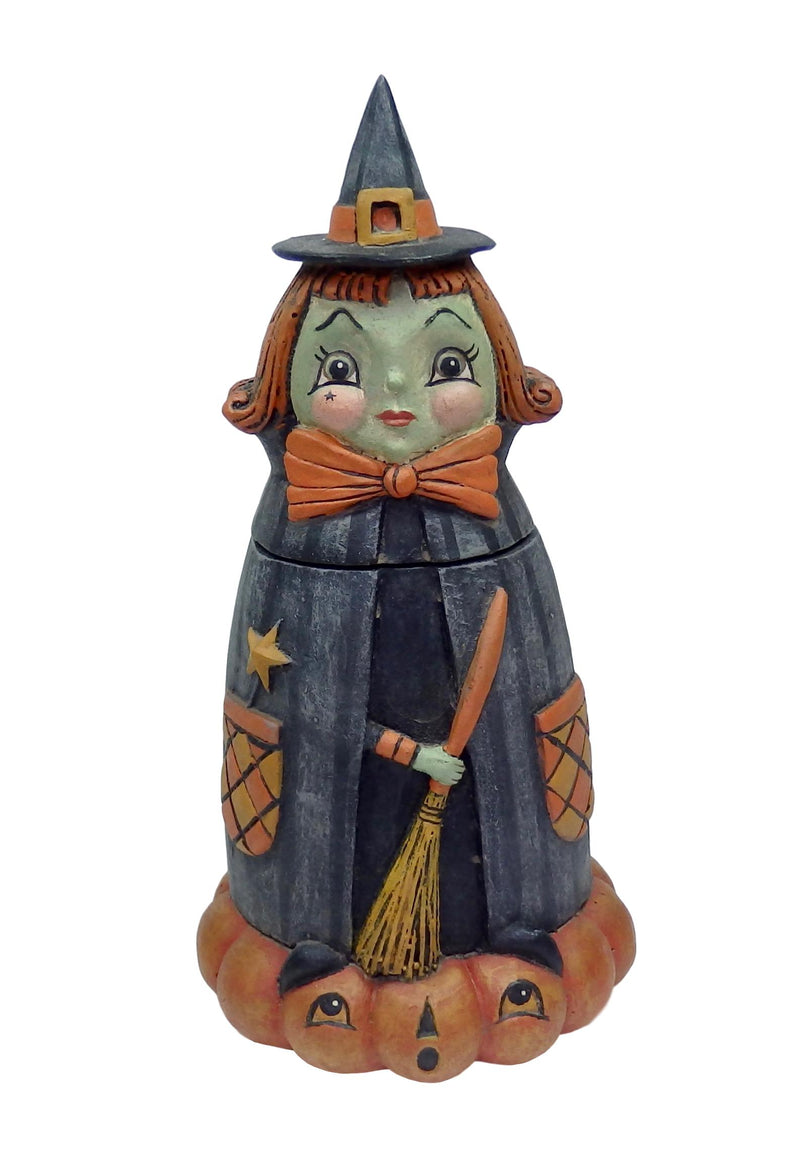 Bethany Lowe Hanna Hocus Spooks Jar-Figurine-Oakview Collectibles