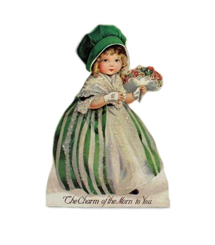 Bethany Lowe St Patricks Dummy Board - Girl-Dummy Board-Oakview Collectibles