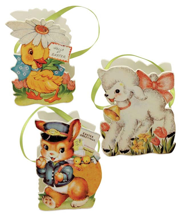 Bethany Lowe Retro Easter Buckets - Set of 3-Bucket-Oakview Collectibles