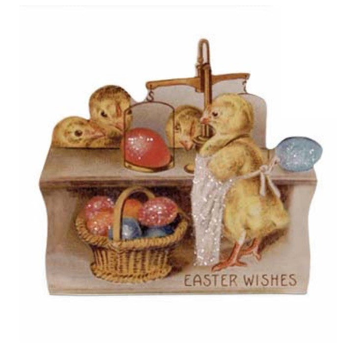 Bethany Lowe Farmers Market Dummy Board - Easter Wishes-Dummy Board-Oakview Collectibles