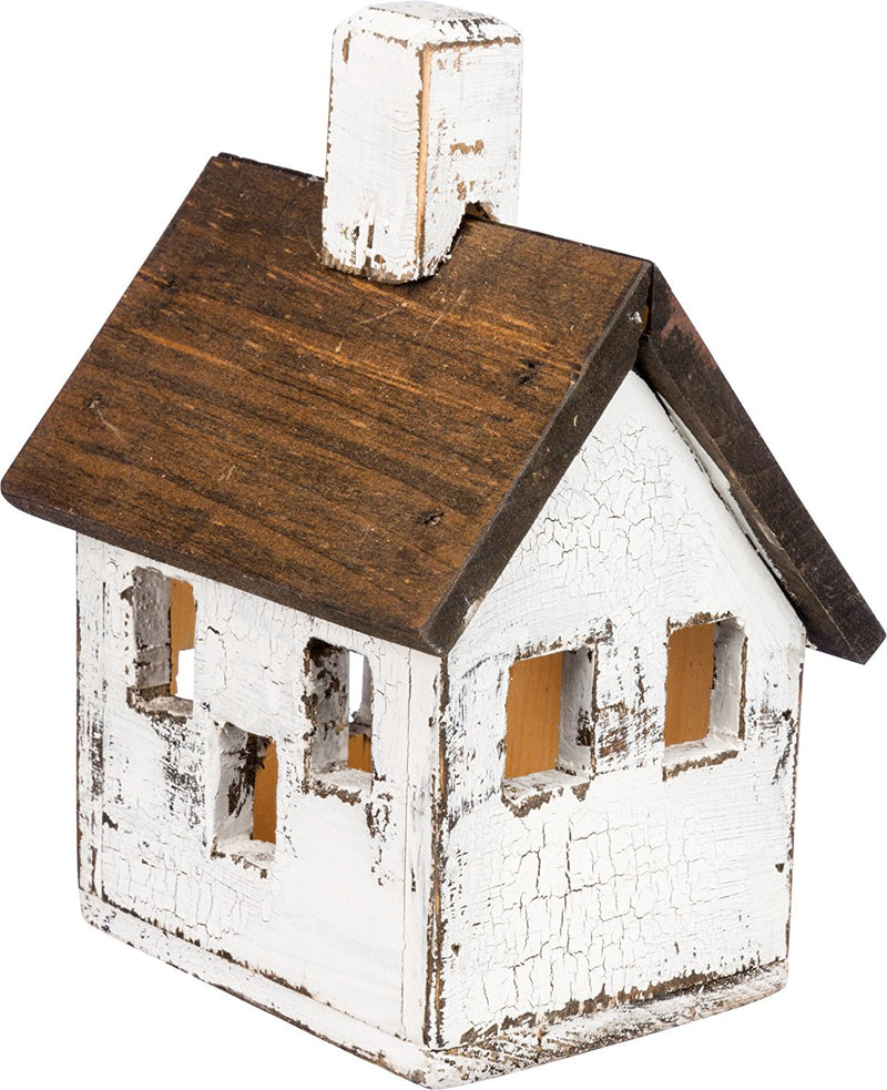 Primitives By Kathy Lighted Manor Birdhouse-Candle Decor-Oakview Collectibles