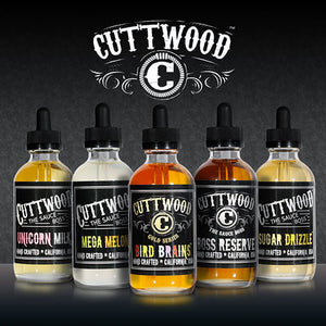 Cuttwood in 120ml Bottles - Go BIG with Unicorn Milk.