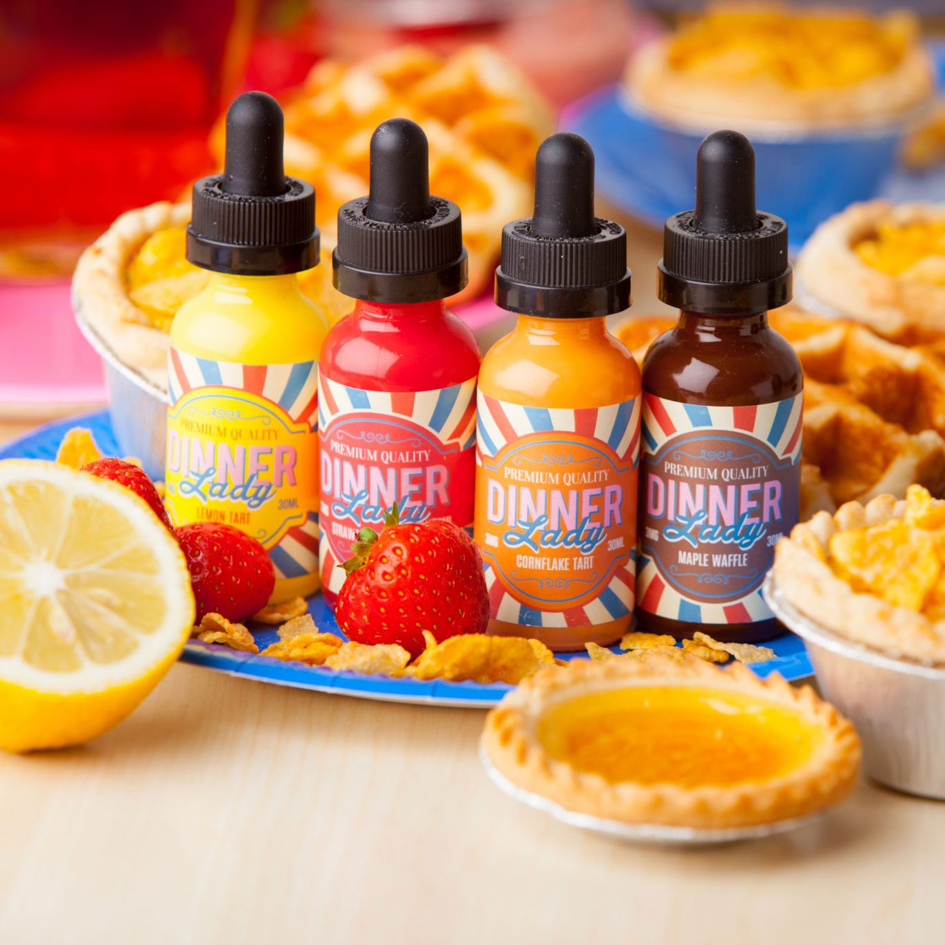 Review of 3 New Dinner Lady Flavors