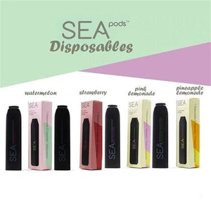 Sea100 Sea Pods Disposables - 50mg (5%) Salt Nic - MaxeJuice