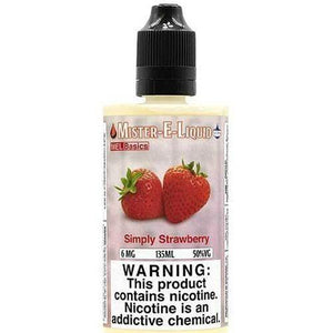 Mister-E-Liquid Simply Strawberry - 135ml - MaxeJuice