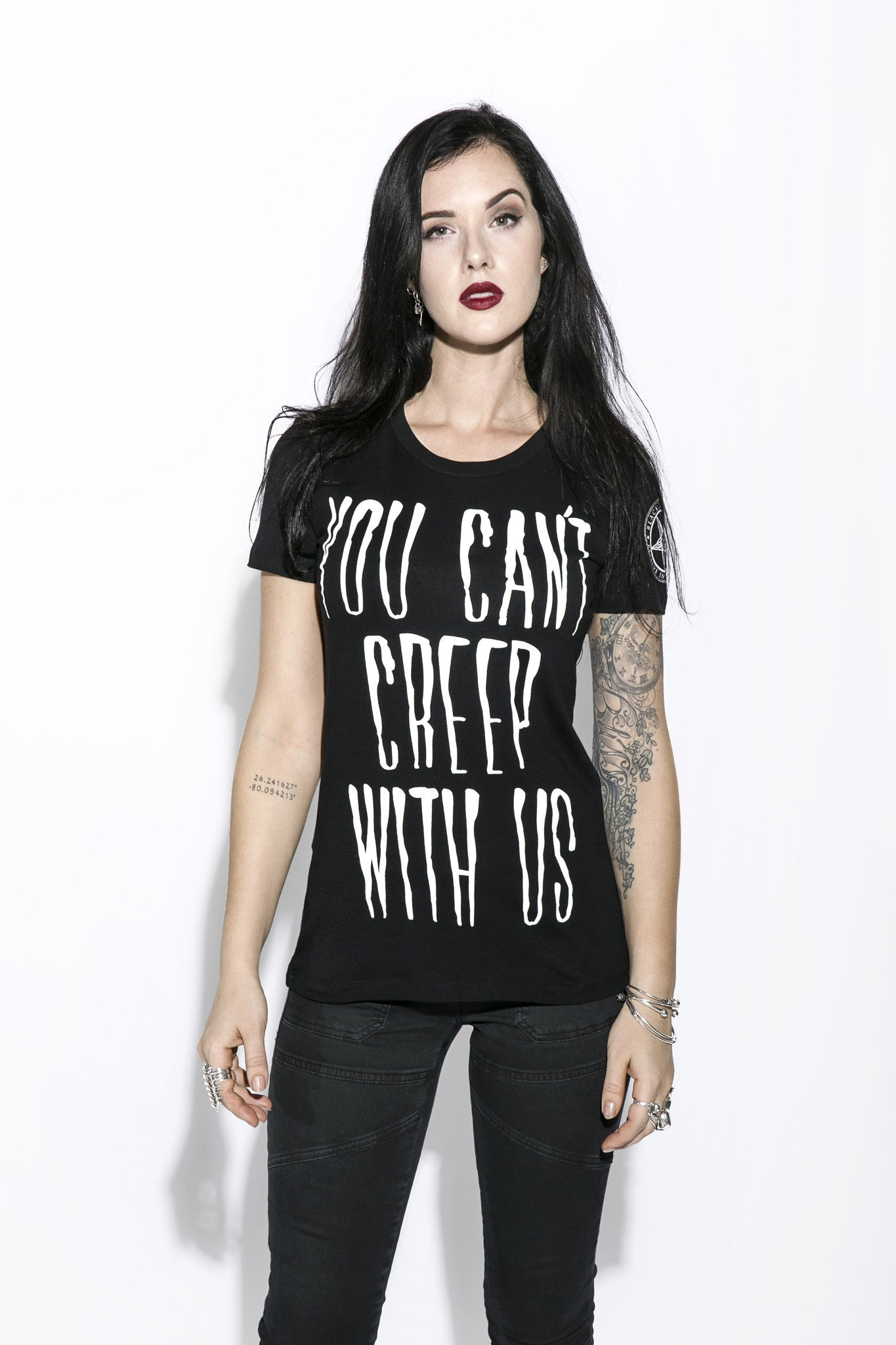 You Can't Creep With Us - Women's Tee
