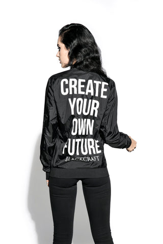 Create Your Own Future - Unisex Lightweight Bomber
