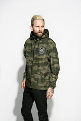 Baphomet Camo - Lightweight Windbreaker