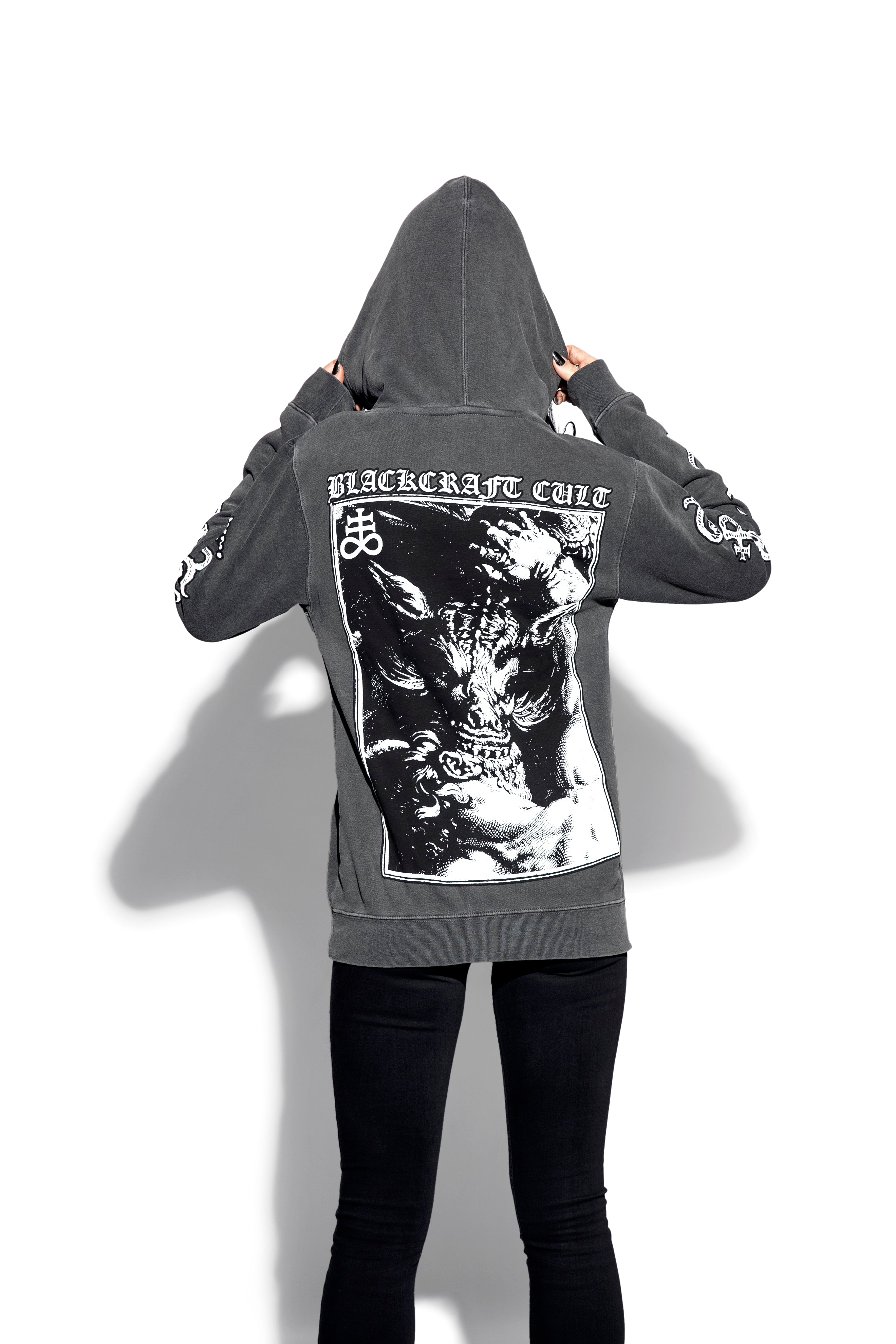 Fiend - Unisex Pigment Dyed Hooded Pullover