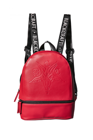 BCC Goat - Limited Edition Red Medium Backpack