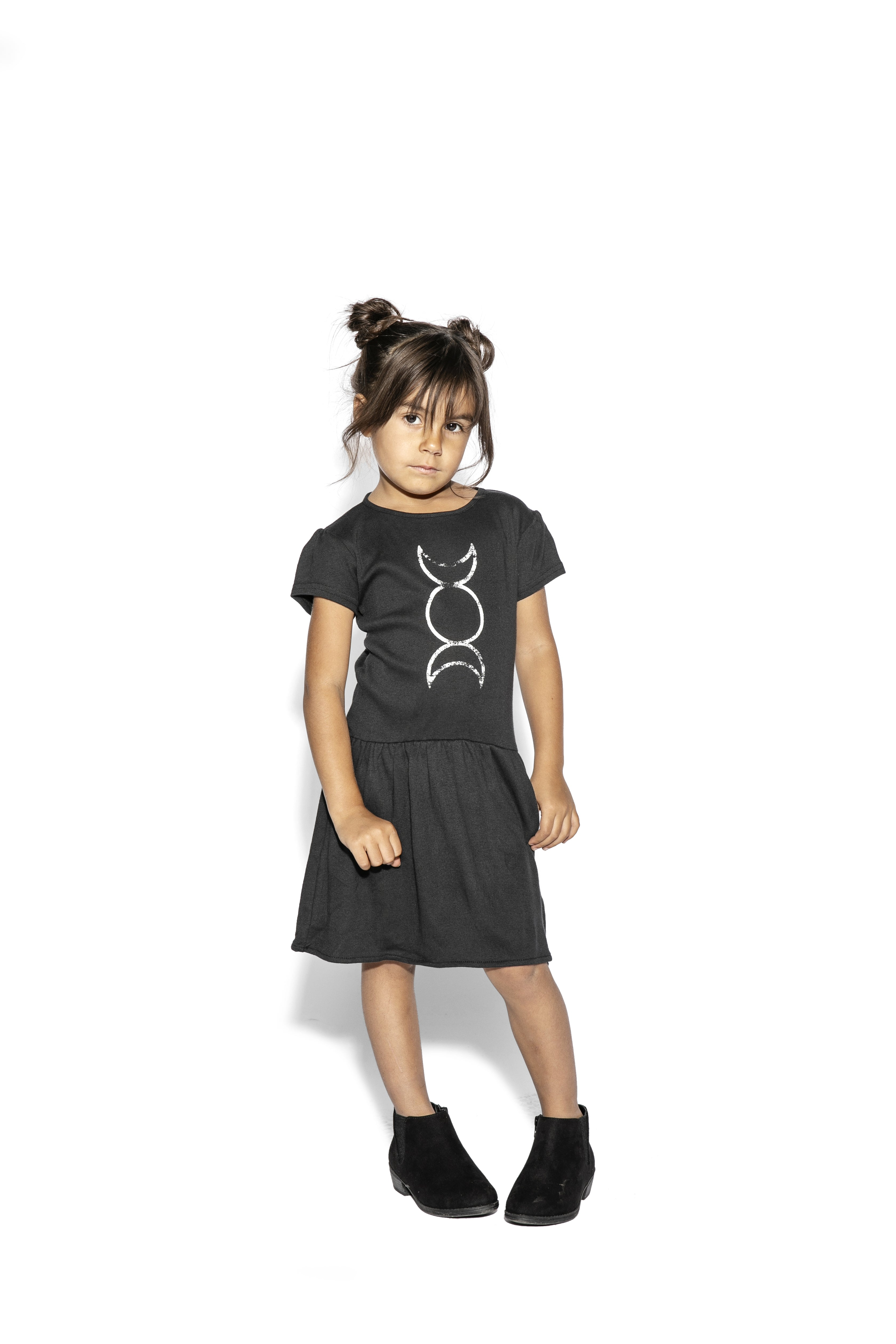 Triple Moon - Baby / Toddler Dress