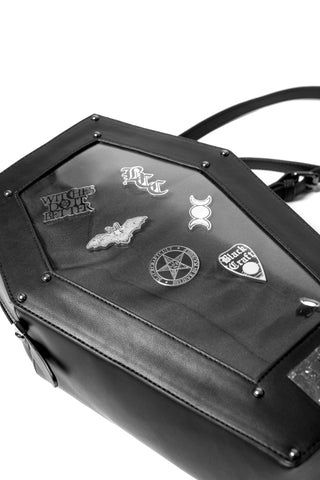 Pin Collector - Coffin Backpack