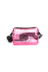 Believe In Yourself Pink Clear Fanny/Crossbody